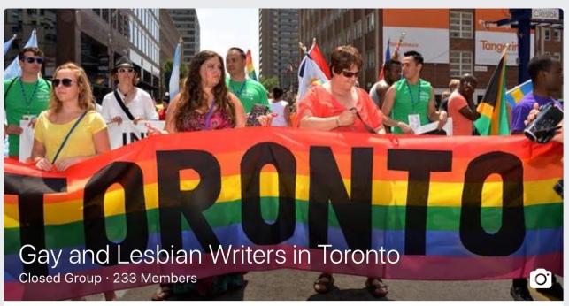 FB LGBT writers Toronto