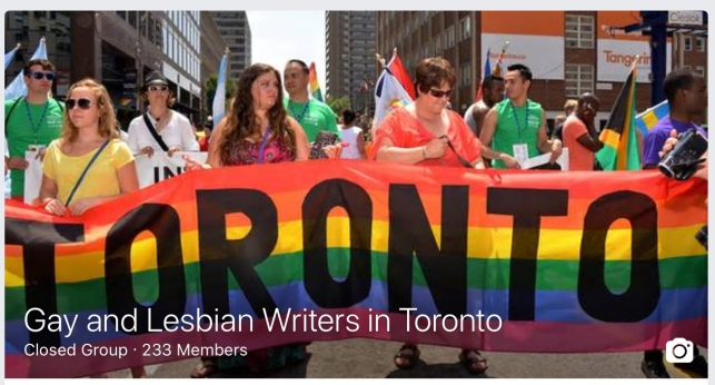 FB LGBT writers Toronto